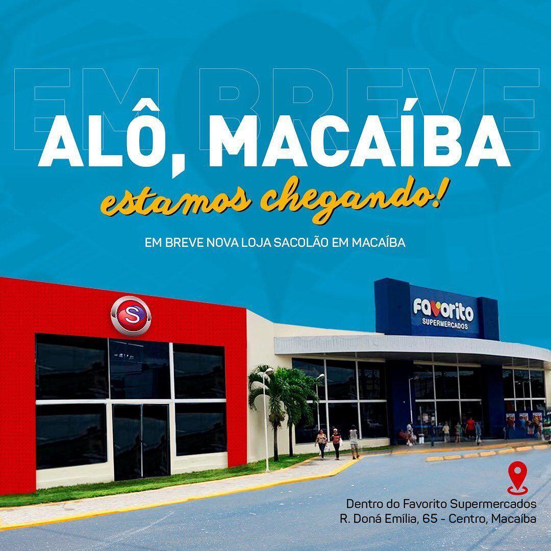 'Sacolão' abre vagas de emprego para nova loja em Macaíba