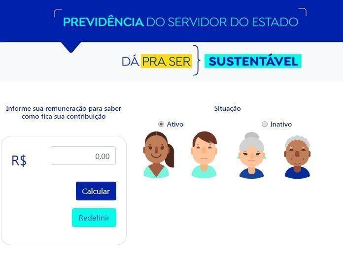 Calculadora simula nova contribuição de servidores do RN após reforma