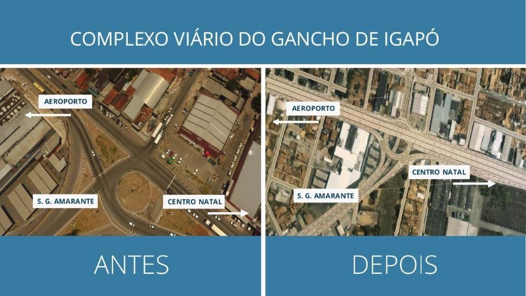 DNIT dá início à nova etapa de obras no Gancho de Igapó