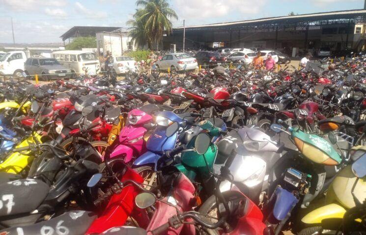 Detran RN leiloa 440 lotes de veículos na próxima sexta-feira