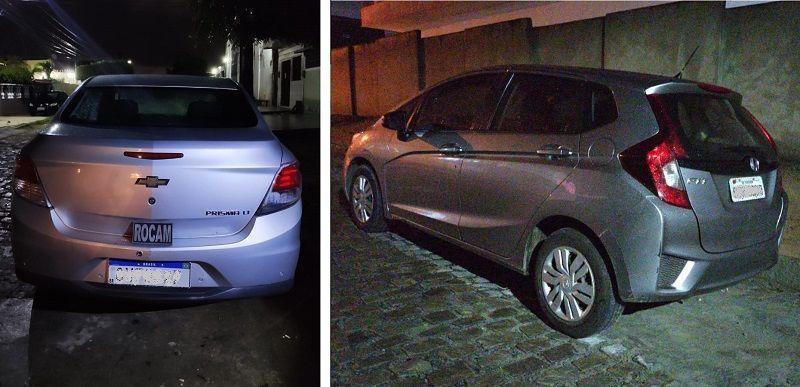 Em apenas uma hora PM's recuperam dois veículos roubados