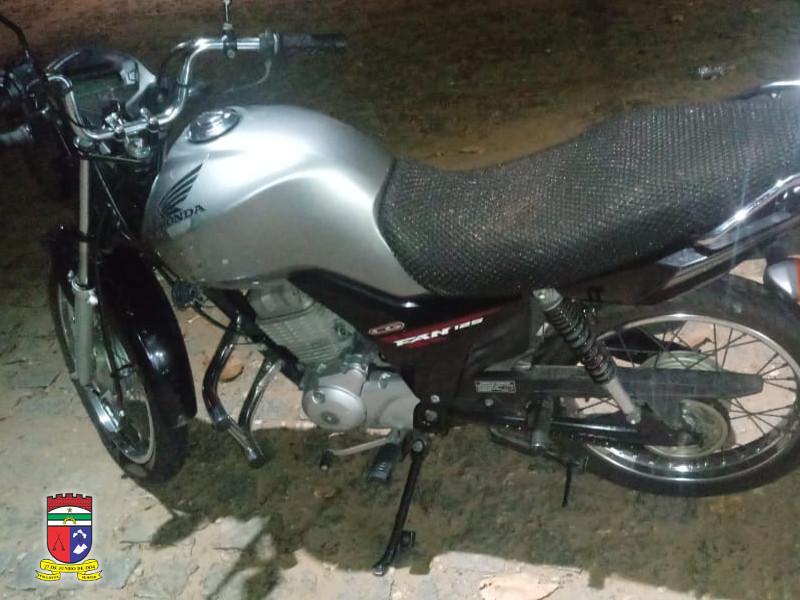ROCAM recupera dois veículos roubados e apreende quadro de motocicleta