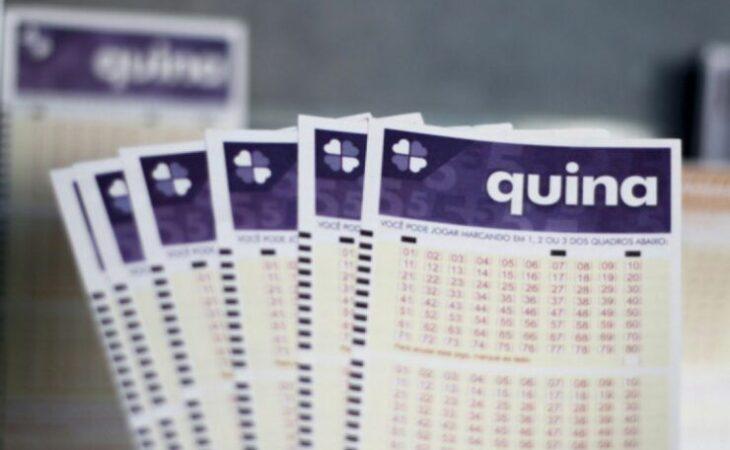 Resultado e números da Quina concurso 5545