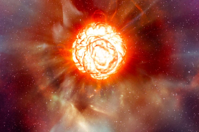 Betelgeuse está prestes a explodir em uma supernova?