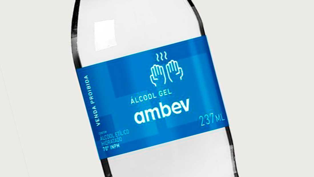 É FAKE: Ambev não está distribuindo álcool gel para a população