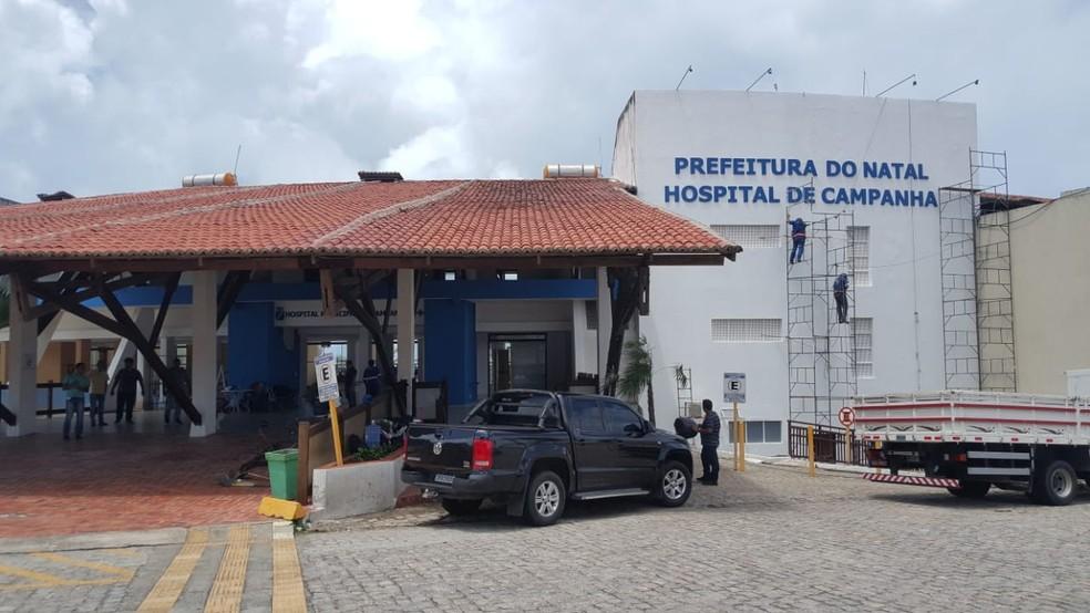 Hospital de Campanha de Natal iniciará atividades em até 15 dias
