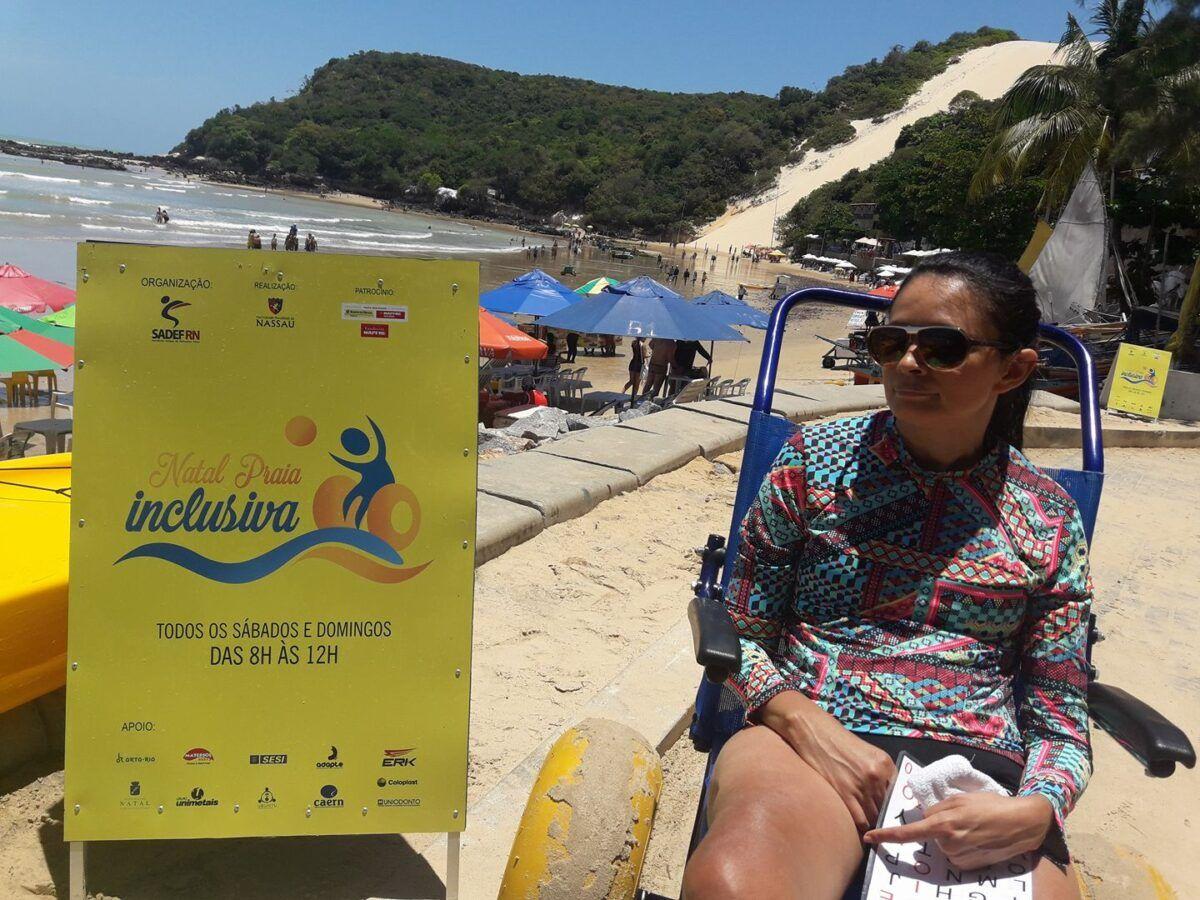 Natal Praia Inclusiva inicia atividades na Redinha