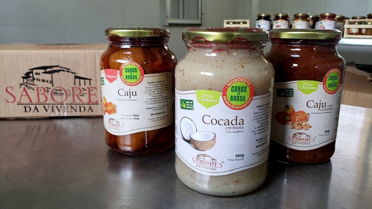 Pequenos produtores de Ceará-Mirim irão vender doces e geleias na rede Pão de Açúcar