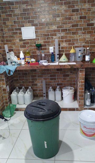 Polícia Civil fecha fábrica clandestina de álcool em gel no RN