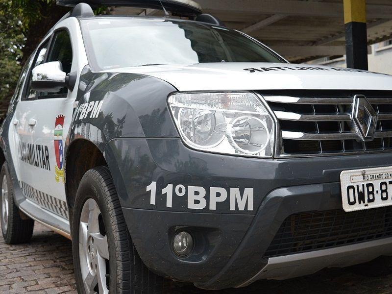 Polícia Militar prende bandidos após roubo de veículo em Extremoz