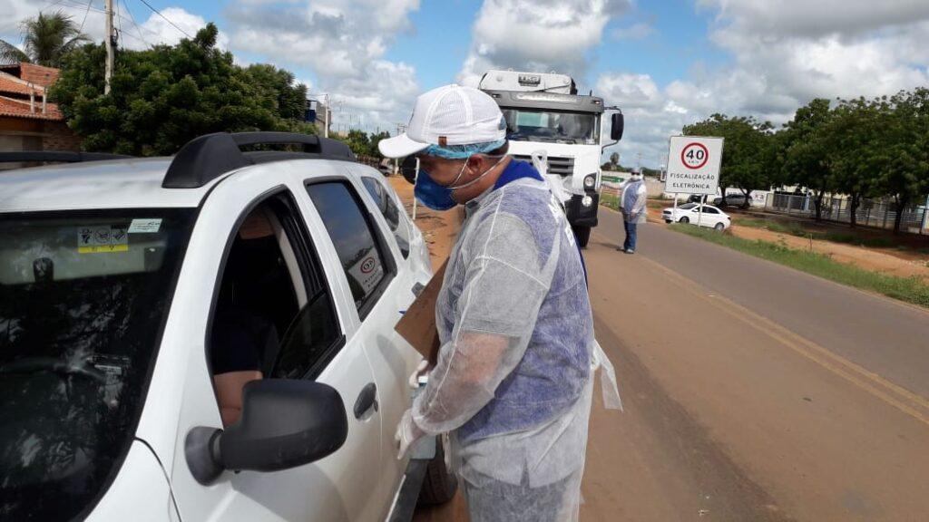 Prefeitura de Mossoró inicia barreira sanitária na BR 405