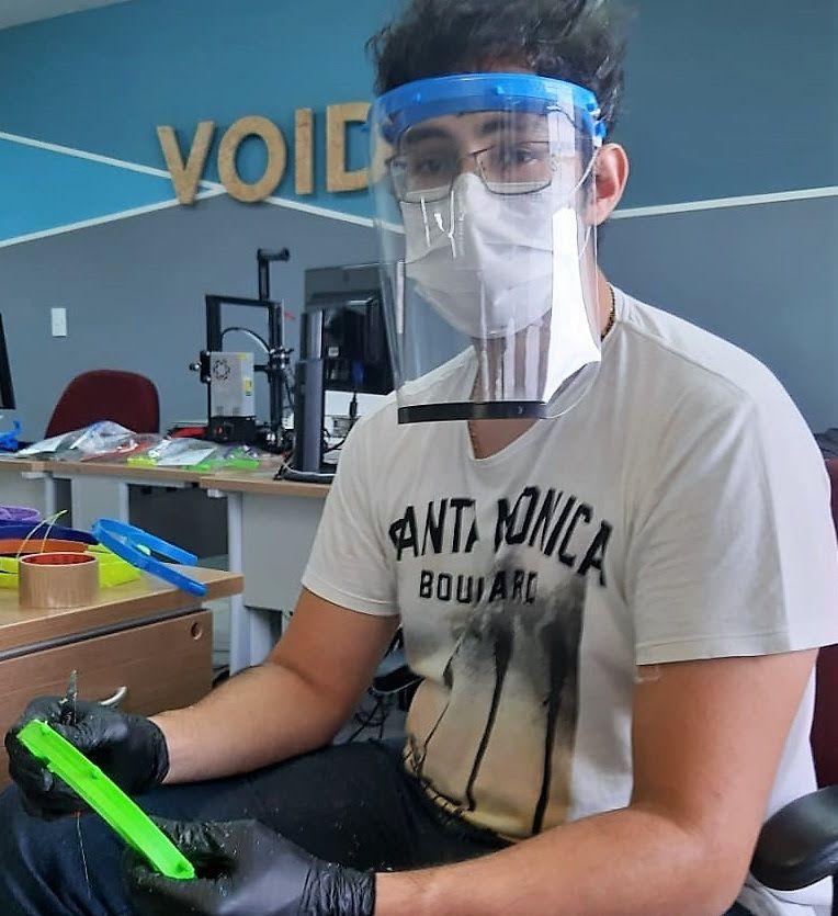 Startup produz máscaras de proteção para doar a profissionais da saúde no RN