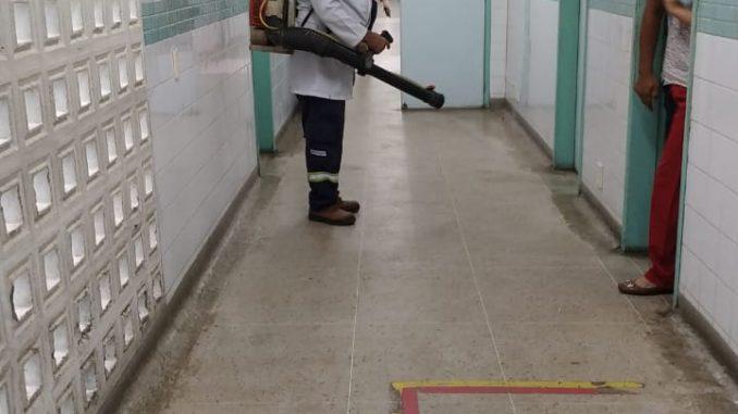 UPAs de Mossoró recebem trabalho voluntário de higienização