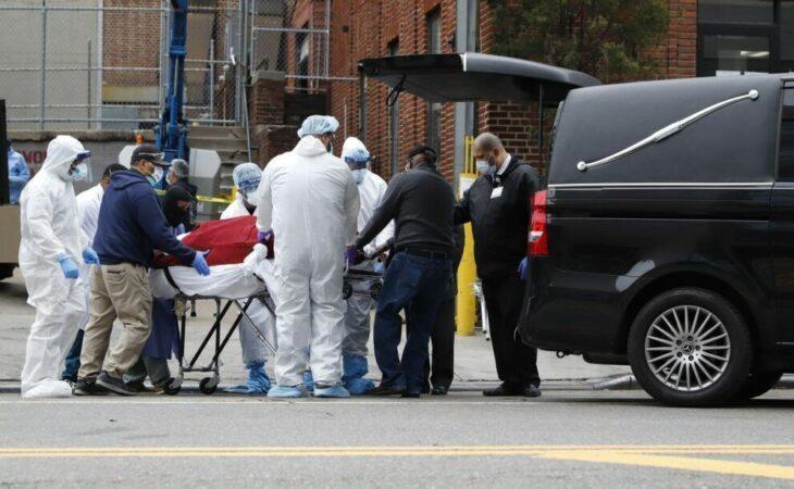 Coronavírus: mais de 1.200 mortes em 24 horas nos EUA