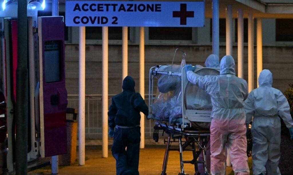 Itália tem menor número de mortes por coronavírus em 24 dias