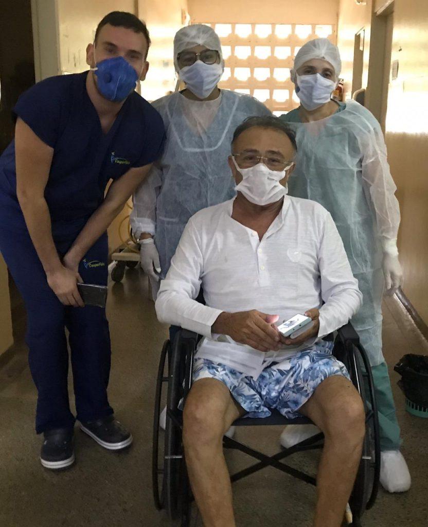 José Jaime de Paiva Brito UTI mossoró coronavírus covid 19