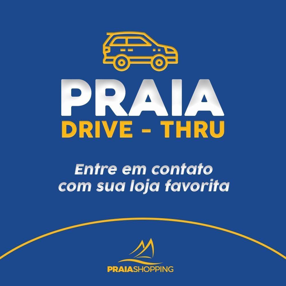 Lojas do Praia Shopping trabalham em esquema de Delivery e Drive Thru