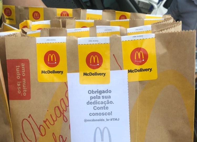 McDonald's doa refeições para caminhoneiros no Brasil