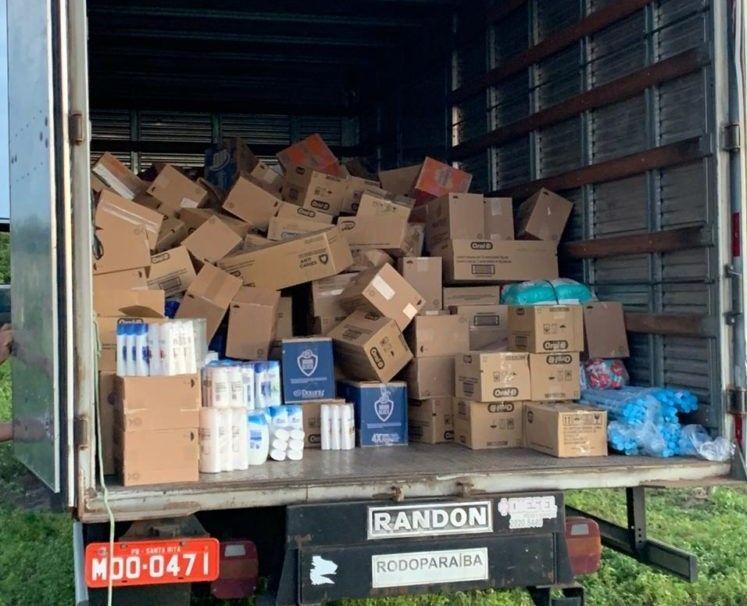 Polícia Civil apreende carga roubada avaliada em R$ 70 mil