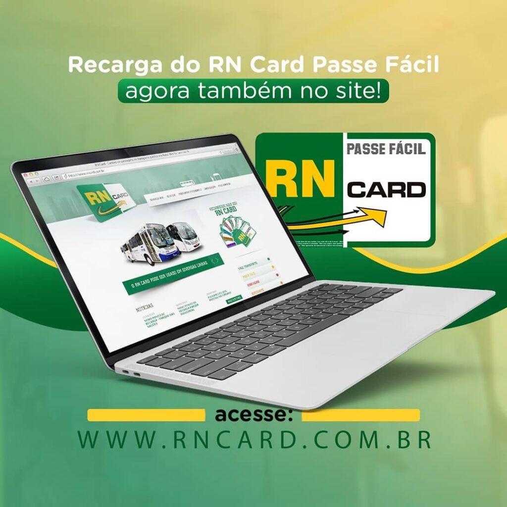 'RN CARD' abre recarga online para o cartão Passe Fácil