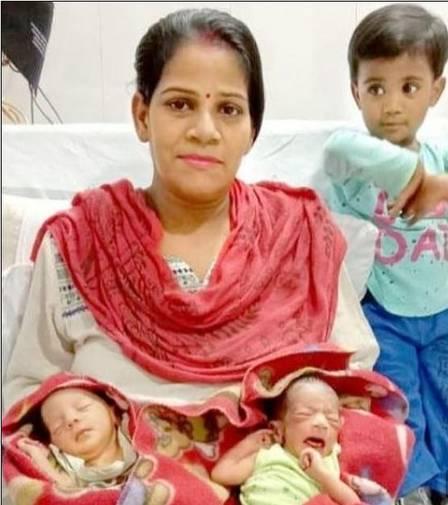 """Nascidos durante quarentena, gêmeos indianos são chamados de """"Covid e Corona"""""""