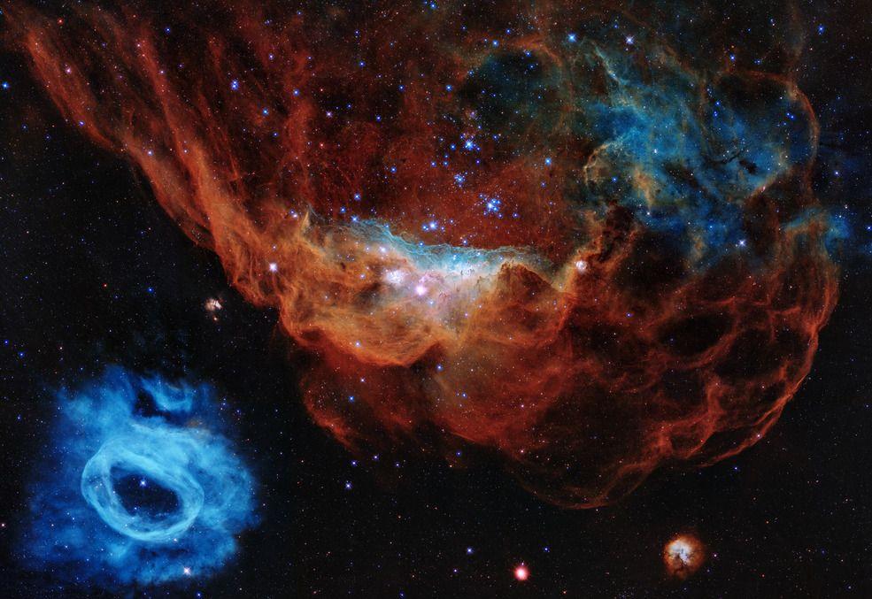 Nos 30 anos do telescópio Hubble, Nasa divulga imagem inédita