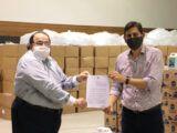 Associação irá distribuir 50 mil máscaras a motoristas de aplicativos e passageiros