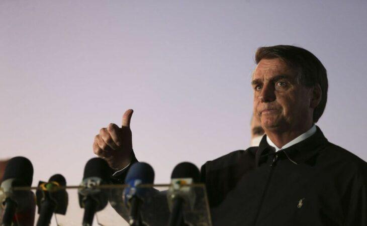 Bolsonaro critica ação do STF contra fake news