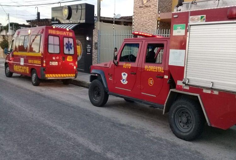 Bombeiros registram princípio de incêndio em comércio de São José de Mipibu