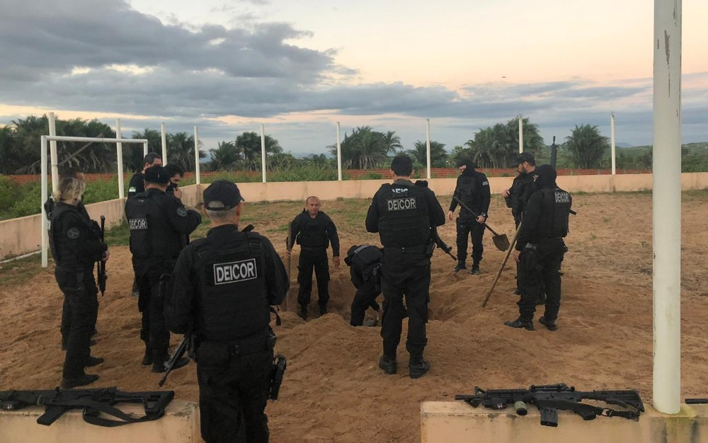 Polícia Civil descobre galpão subterrâneo e prende vereador em Parnamirim