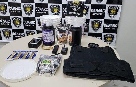 Polícia Civil prende dois suspeitos por tráfico de drogas no Alecrim