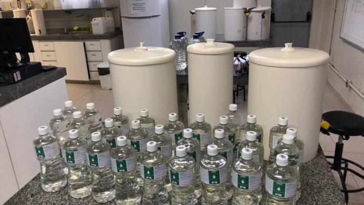 UFRN ultrapassa marca de 30 mil litros de álcool produzidos