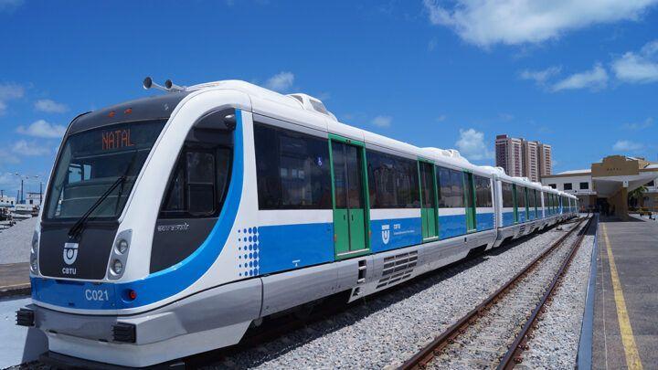 Viagens de VLT entre Natal e Ceará-Mirim serão suspensas nesta segunda (25)