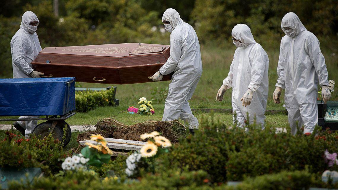 Pela 3ª vez, Brasil registra mais de mil mortes por Covid-19 em 24h