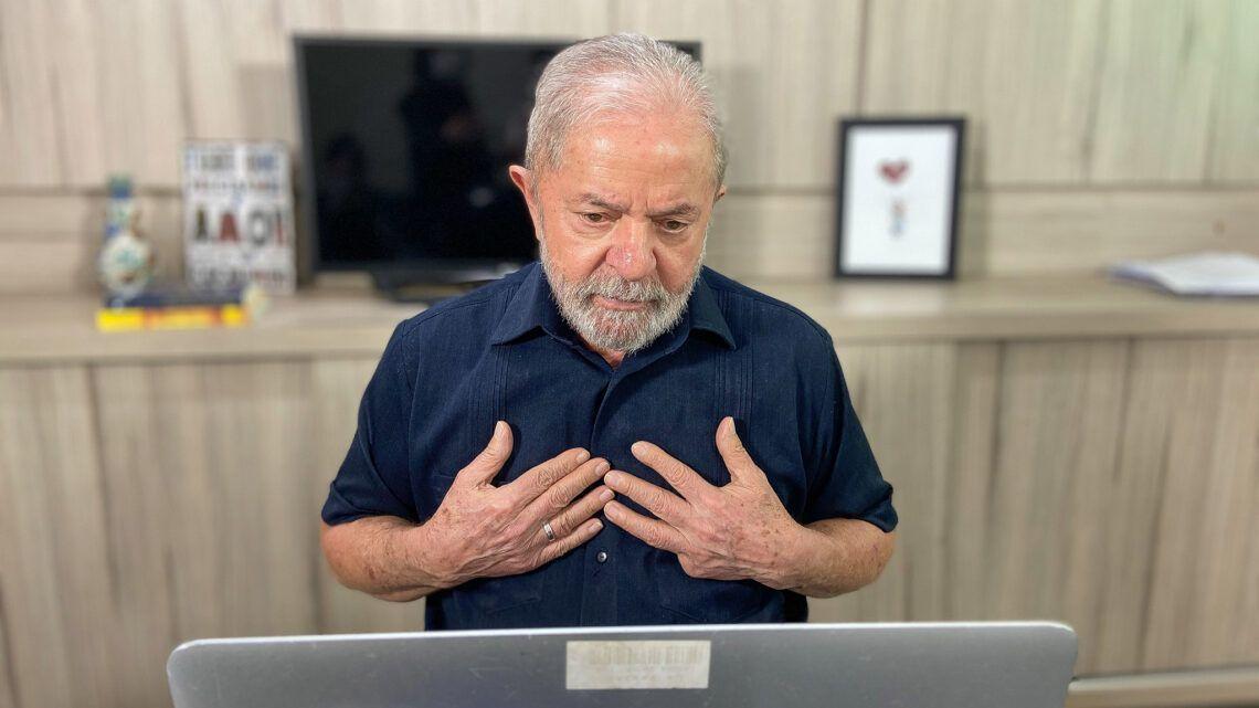 """""""Ainda bem que a natureza criou esse monstro chamado coronavírus"""", diz Lula"""