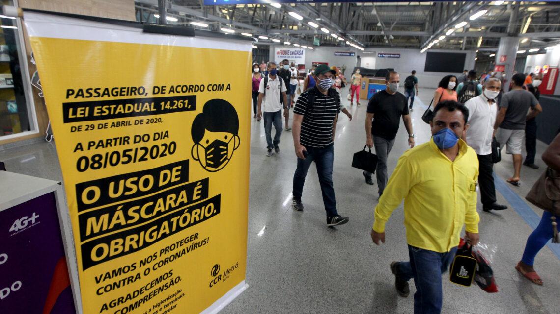 Parlamentares pretendem derrubar vetos de Bolsonaro à lei sobre uso obrigatório de máscaras