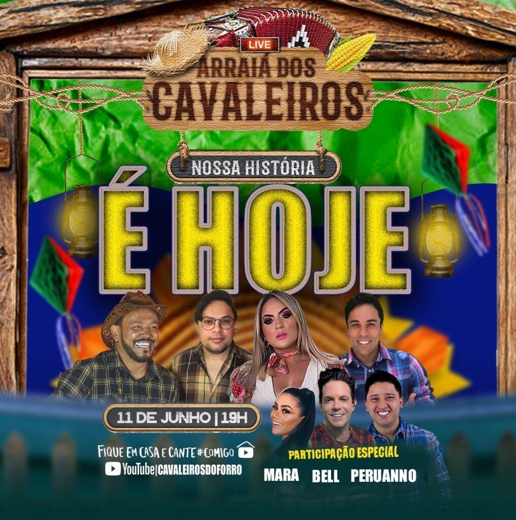 Cavaleiros do Forró com live junina nesta quinta-feira 11
