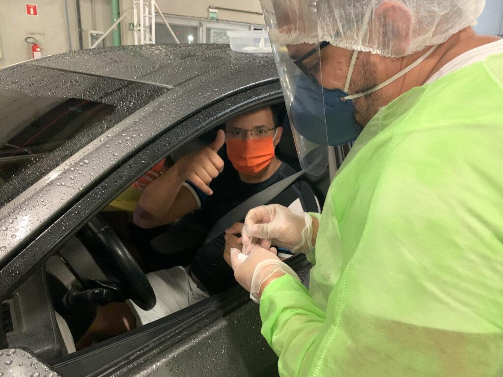 Covid-19: mais de 900 casos são identificados durante testagem rápida em Natal