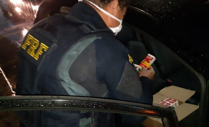 Dupla que vendia Ivermectina na BR 101 é detida pela PRF em Natal