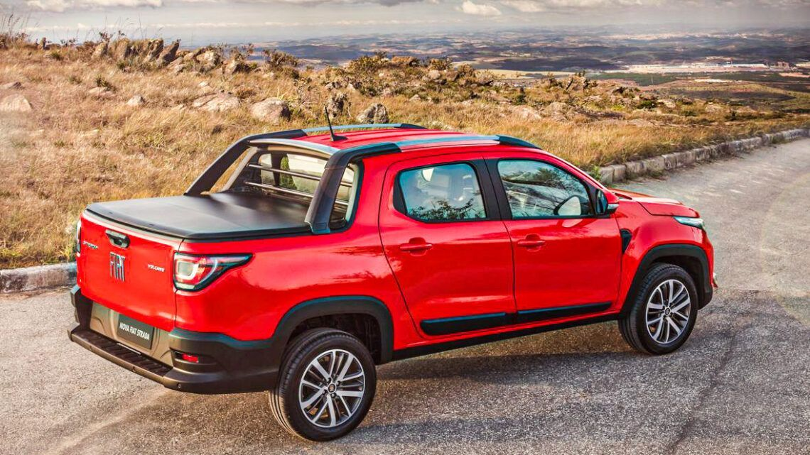 Fiat lança Strada com novo design