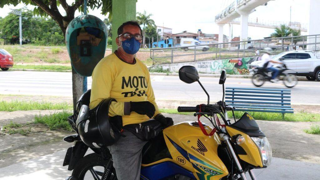 Teste rápido de Covid-19 para Mototaxistas em Parnamirim