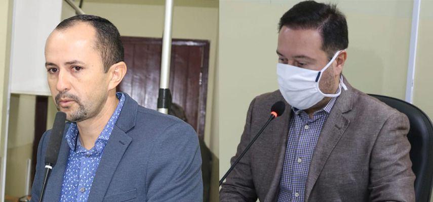 Vereadores Pastor Alex e Rogério Santiago deixam a base aliada de Rosano Taveira
