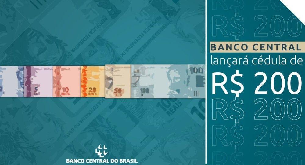 Banco Central anuncia lançamento da nota de R$ 200; confira detalhes