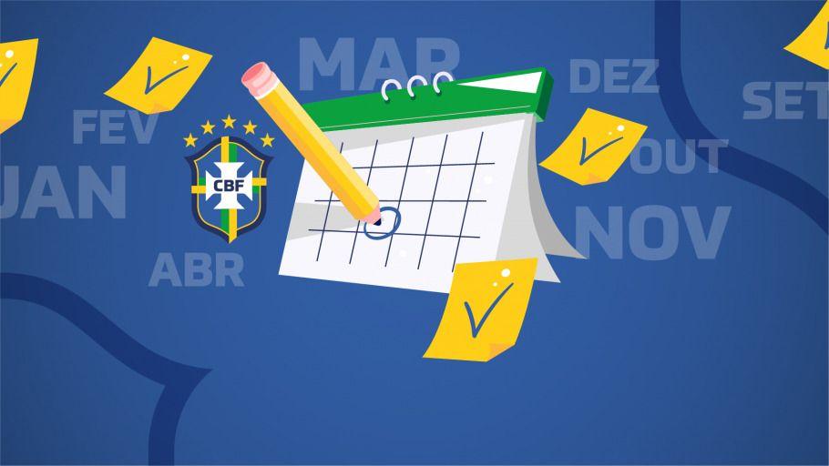 CBF divulga calendário revisado da temporada 2020