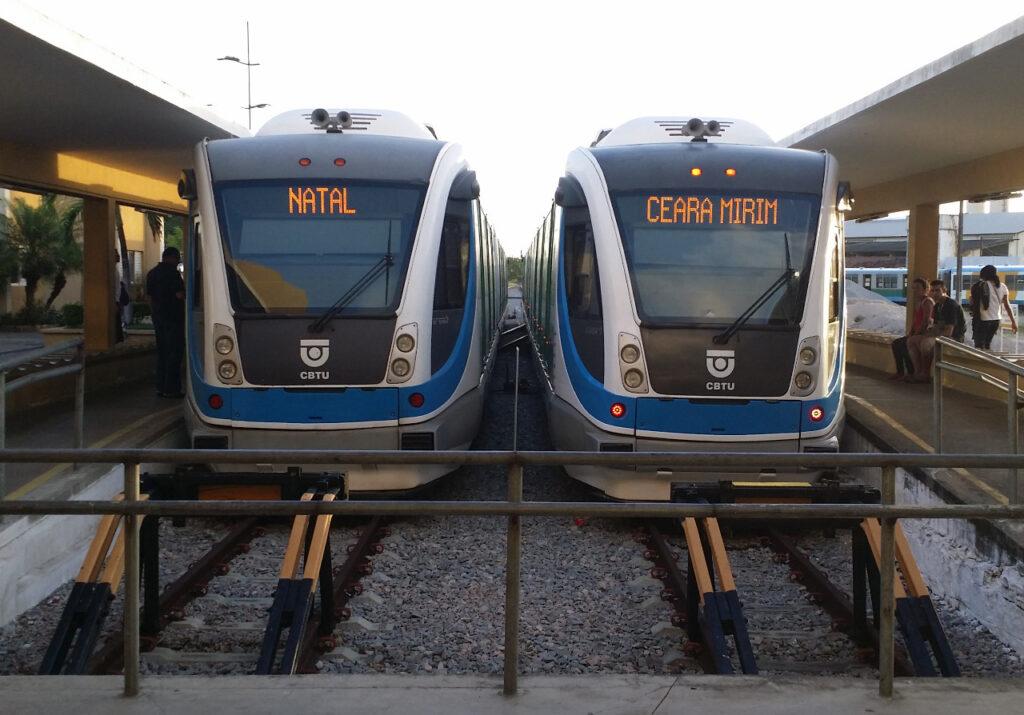 CBTU retorna com 100% da frota de trens na Grande Natal