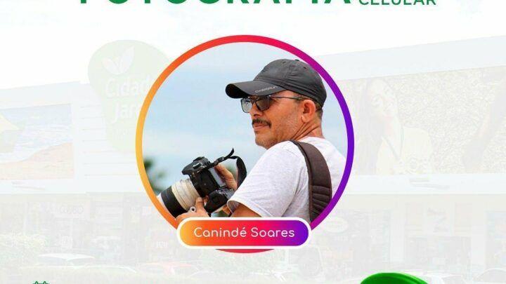 Canindé Soares dá workshop de fotografia ao vivo no Instagram