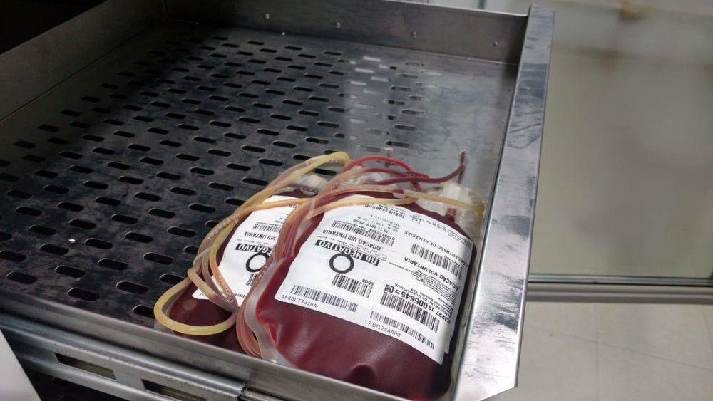 Com estoque de sangue abaixo de 30%, Hemonorte pede doações