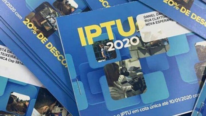 Cuidado com o golpe do IPTU em Parnamirim