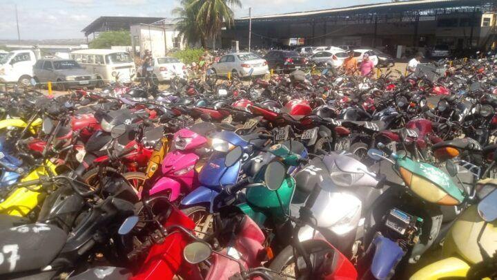 Detran-RN fará leilão exclusivamente online com 229 lotes de veículos