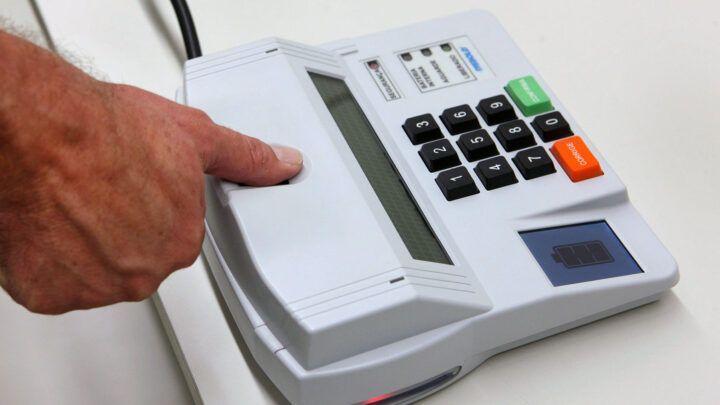 TSE vai excluir biometria das eleições municipais de 2020